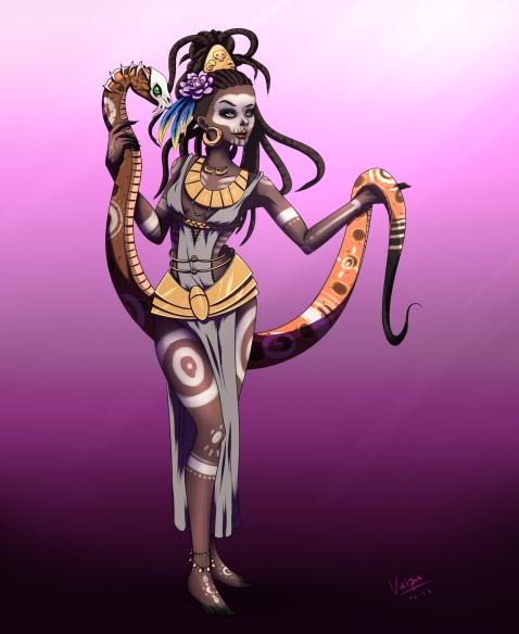 Voodoopriestress